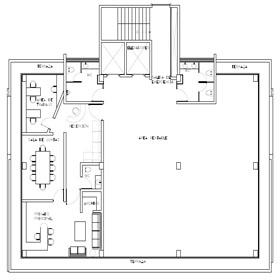 Planos espacios corporativo centro stern for Planos de oficinas